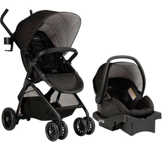 Evenflo Sibby 4 Wheel Standard Travel System Product image
