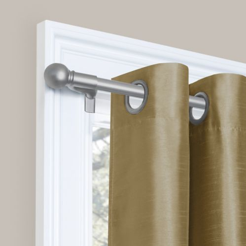 Smart Rod Extendable Curtain Rod, 84-in