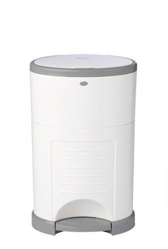 Dékor Plus Hands-Free Diaper Pail, White Product image