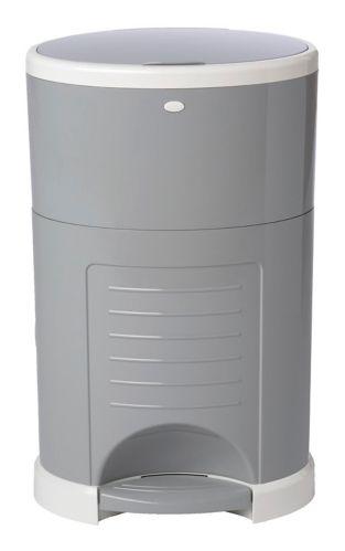 Dékor Plus Hands-Free Diaper Pail, Grey Product image