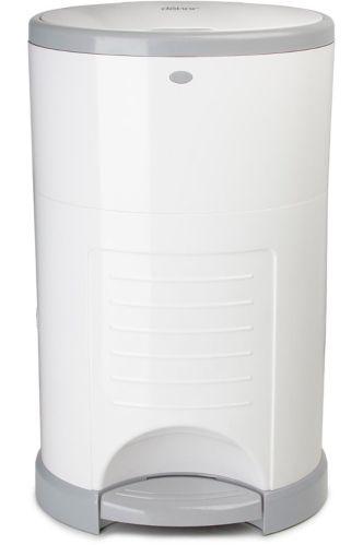 Dékor Mini Diaper Pail, White Product image