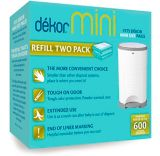 Recharges biodég. pour poubelle à couches Dékor Mini, paq. 2 | Dekornull