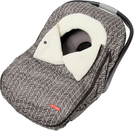 Skip Hop Stroll & Go Car Seat Cover, Grey Feather