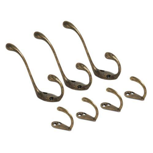 Nystrom Antique Bronze Hooks, 7-Pk