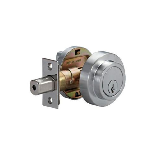 Garrison Contemporary Deadbolt, Rose Product image