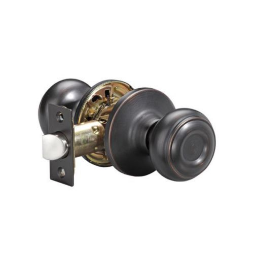 Garrison Palace Knob, Passage, Satin Oxidized Bronze Product image