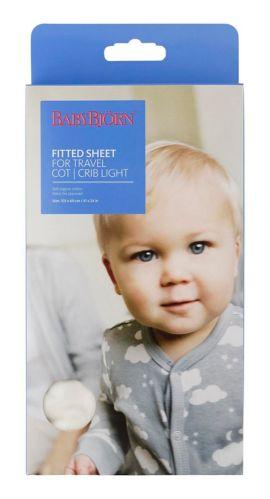 Drap-housse pour parc BabyBjorn, blanc naturel Image de l'article