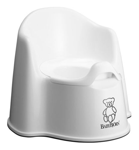 BabyBjorn Potty Chair, White Product image