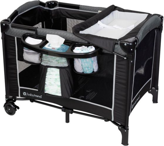 BabyTrend 2-Level Playard with Changer & Diaper Station