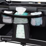 BabyTrend 2-Level Playard with Changer & Diaper Station | Baby Trendnull