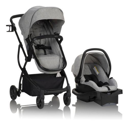 Système de voyage modulaire Evenflo Omni Plus avec siège d'auto pour bébé LiteMax Image de l'article