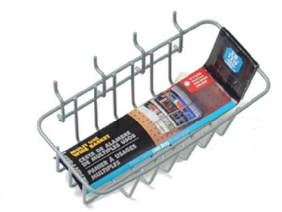Panier en acier pour panneau perforé Image de l'article