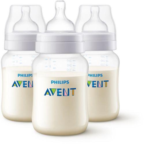 Philips Avent Anti-Colic Baby Bottle, 9-oz, 3-pk Product image