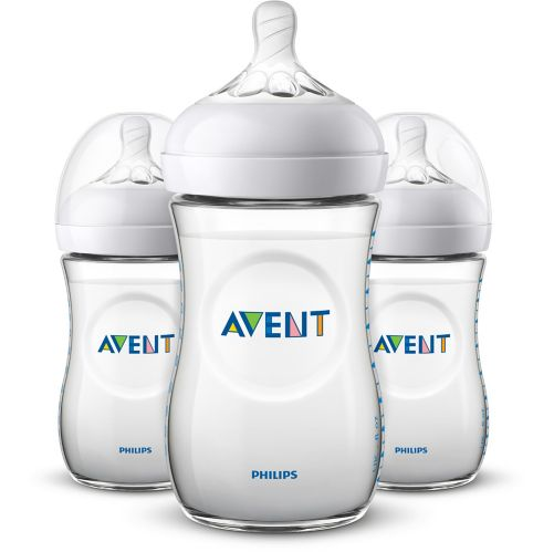 Philips Avent Natural Baby Bottle, 9-oz, 3-pk Product image