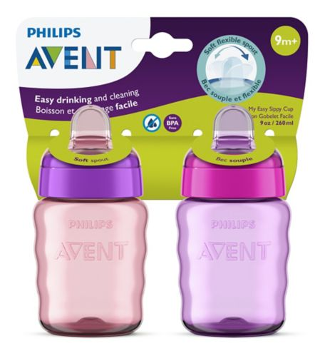 Philips Avent Soft Sippy Cup, 2-pk Product image