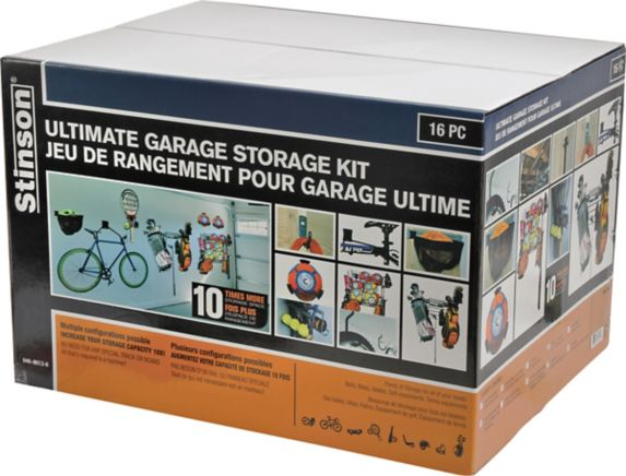 Ultimate Garage Storage Kit, 16-pc Product image