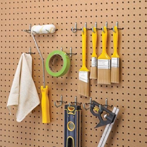 Mastercraft Peg Hook Kit, 1/4-in Product image
