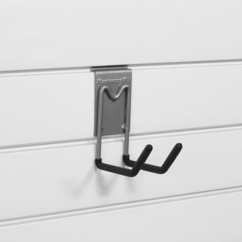Mastercraft Easy Install Track Panel Double J-Hook, 6-in Product image
