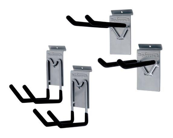 Mastercraft Slat-Wall Utility Hook Kit, 4-pc Product image