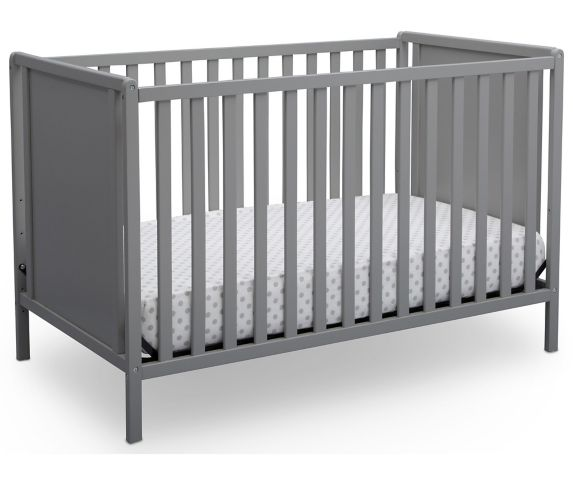 Lit de bébé 4-en-1 Delta, gris Image de l'article