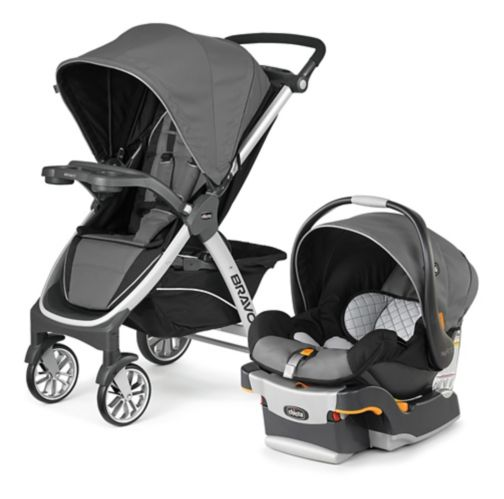 Chicco Bravo KeyFit 3-in-1 Travel System Product image