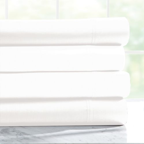Rest 400-Thread-Count White Sheet Set Product image
