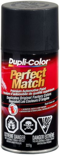 Dupli-Color Perfect Match Paint, Flat Black Product image