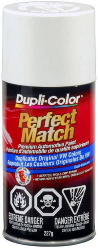 Peinture Dupli-Color Perfect Match, Blanc bonbon (LB9A)