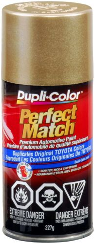 Dupli-Color Perfect Match Paint, Light Beige Metallic (4D2)