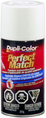Peinture Dupli-Color Perfect Match, Blanc vif (PW6,GW6,PW7,GW7) Image de l'article