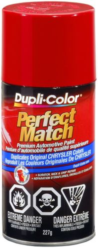 Dupli-Color Perfect Match Paint, Flame Red (PR4)