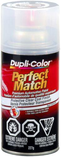 Peinture auto Dupli-Color Perfect Match, vernis de finition transparent, 8 oz