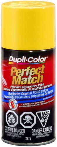 Peinture Dupli-Color Perfect Match, Jaune chrome (BZ) Image de l'article