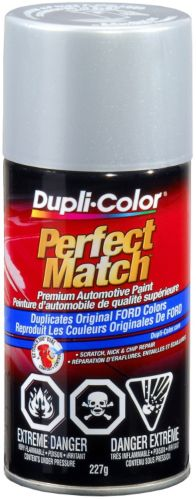 Dupli-Color Perfect Match Paint, Ford  Silver Metallic (J,1G)