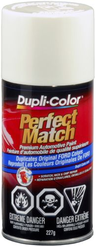 Dupli-Color Perfect Match Paint, Ford  Pure White (C,9E,YG)