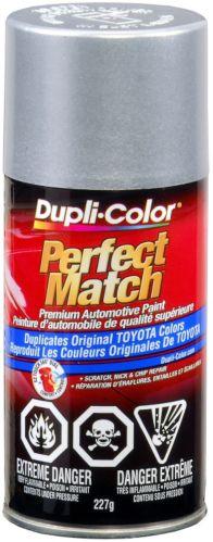 Dupli-Color Perfect Match Paint, Platinum Silver Metallic (176)