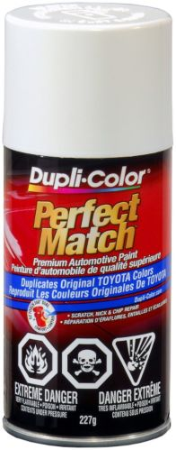 Dupli-Color Perfect Match Paint, Natural White (056)