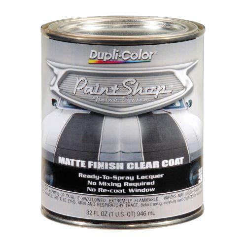 Peinture de finition pour auto Dupli-Color, mat/transparent, 946 mL Image de l'article