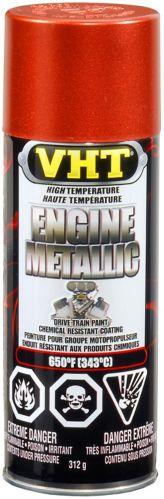 Peinture métallique VHT haute température pour moteur, 312 g Image de l'article