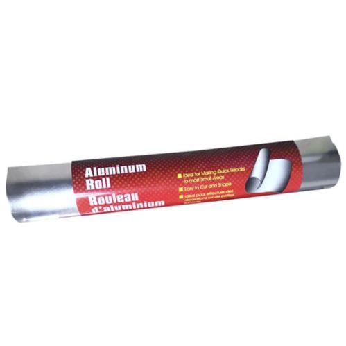 Rouleau de feuille d'aluminium pour réparation, 36 po Image de l'article