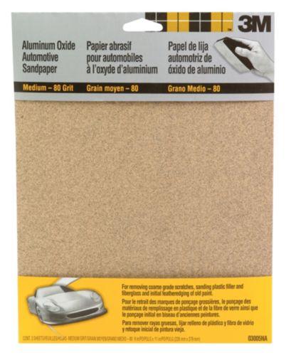 3M Aluminum Oxide Automotive Sandpaper