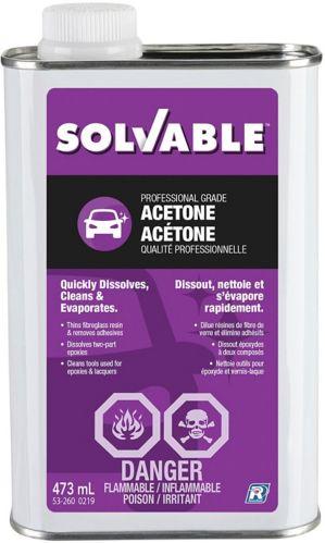 Solvable Acetone
