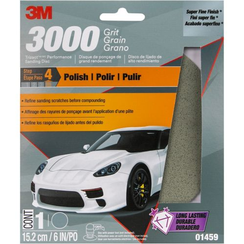 3M Trizact Performance Sanding Disc, 3000 Grit Product image