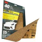 3M WetorDry Sandpaper, 9-in x 11-in, 5-pk | 3Mnull