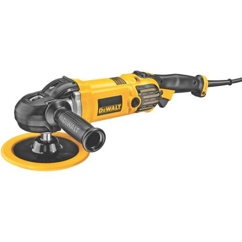 DEWALT 12A Variable Speed Polisher with Soft Start, 7/9-in