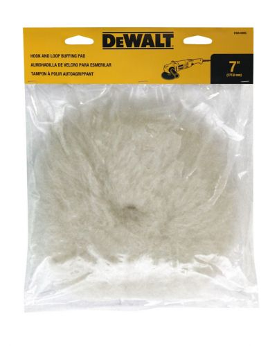 DEWALT 7-in Hook and Loop Polishing Pad Product image