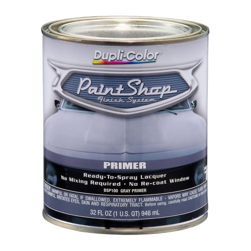 Dupli-Color Paint Shop Finish System, Gray Primer, 946-ml