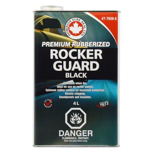 Rubberized Rockerguard Undercoating, 4L Black