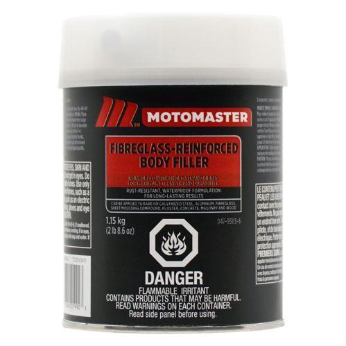 Mastic à carrosserie en fibre de verre MotoMaster