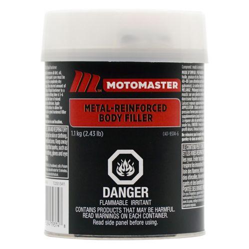 MotoMaster Metal Reinforced Body Filler, 1100-g